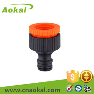 "ABS Material 1/2""-3/4"" Female Tap Adaptor pictures & photos"