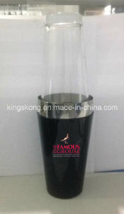Stainless Steel Boston Tin Wrapped PVC, Boston Cocktail Shaker with Mixing Glass in PVC Coating pictures & photos