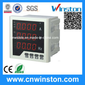 Single-Phase Three Row Frequency LED Digital Combination Meter with CE pictures & photos