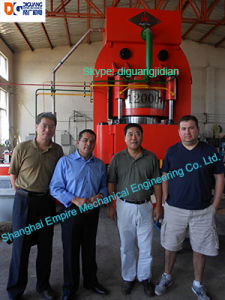 Hydraulic Press for Heat Exchanger Manufacturing 40000t