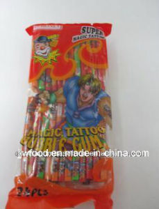 New Design Soft Bubble Gum with Big Tattoo pictures & photos