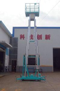 Aerial Work Platform / Double Mast Aerial Work Platform /Scissor Lift /Aluminium Lift pictures & photos