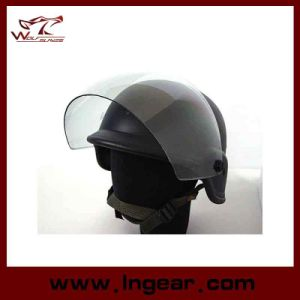 Tactical Airsoft Paintball M88 Pasgt Durable Replica Helmet with Clear Visor Outdoor pictures & photos