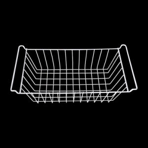 Refrigerator/ Freezer Steel Wire Basket