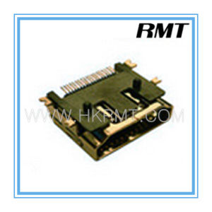 HDMI 19p a Type Female SMT Connector (RMT-160325-034) pictures & photos
