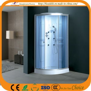Blue Glass Simple Shower Room (ADL-822) pictures & photos