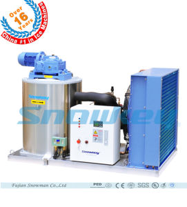 Commercial Flake Ice Machine with Ice Storage Bin 2016 Year Newest Design pictures & photos