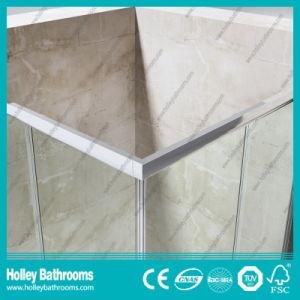 Sliding Door Stainless Steel Hardware Aluminum Waterproof Bar Shower Cabin (SE615C) pictures & photos