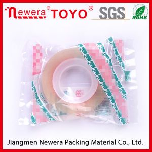 Easy-to-Use School Office Transparent Self Adhesive BOPP Film Stationery Tape pictures & photos