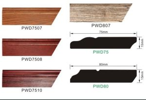 Ck New Concept Paint Free Natural Wood Skirting Boards pictures & photos