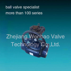 Gear Operated API Butt Weld Ball Valve Pipeline Heating pictures & photos
