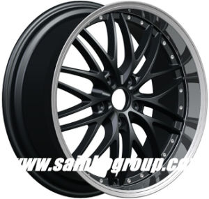 F80c71 19 Inch Black Aftermarket Alloy Wheel Rim pictures & photos