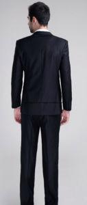 Black Bulk Simple Designs Men Suit pictures & photos