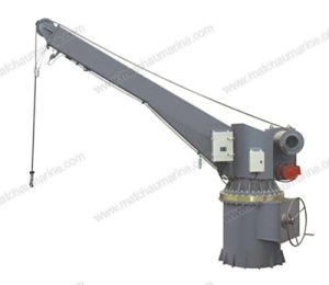 Electrical Hydraulic Slewing Crane Boat Raft Davit pictures & photos