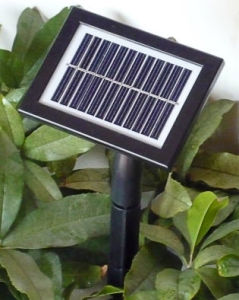 Glass PV Solar Light Controller with Battery Monocristal (13*9.6) pictures & photos