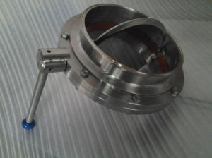 Welded Stainless Steel Butterfly Valve pictures & photos