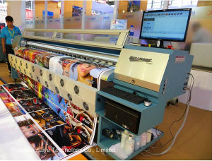 Outdoor Digital Solvent Large Format Printer (FY-3208R with 8PCS Seiko Spt510 print head) pictures & photos