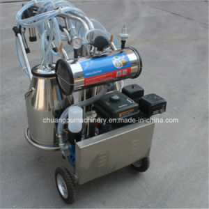 Mobile Milking Machine with Gasoline Engine pictures & photos