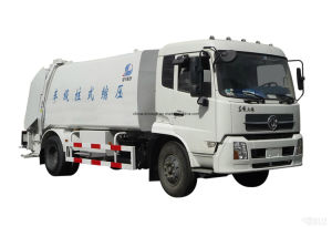 Professional Supply Compressed Garbage Compactor Truck of 20m3 Tank Size pictures & photos