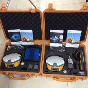 Geodetic GPS Receiver for Land Surveying GPS Gnss Rover Base with UHF Radio pictures & photos