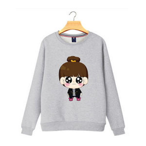 Fashion 80 Cotton 20 Polyester Pullover Women Hoodies pictures & photos