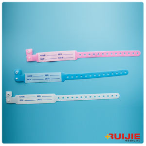 Disposable Medical ID Bracelet Identification Band/ID Adult pictures & photos