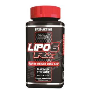 Nutrex Research 60 Count Rx Supplement Lipo-6
