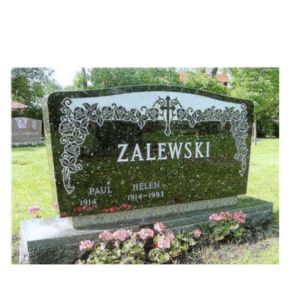 America Stye Different Granite Tombstone Design -QS