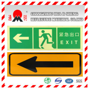 Yellow Engineering Grade Reflective Sheeting for Road Traffic Signs Guiding Signs (TM5100) pictures & photos