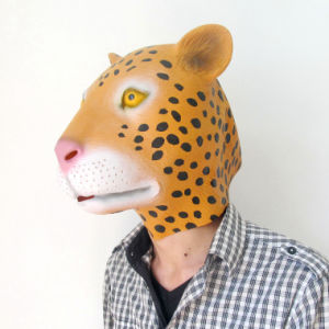 High Quality Full Head Realistic Halloween Animal Latex Horror Mask pictures & photos