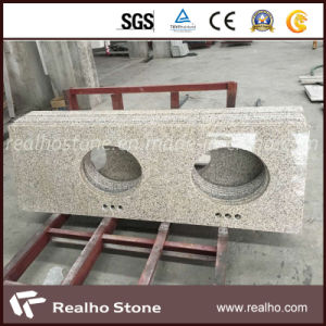 Shandong Rust (G350) Granite Vanity Top for Bathroom pictures & photos