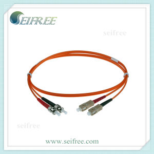 Multimode Sc-St Duplex Fiber Optical Patch Cord pictures & photos