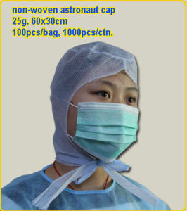 Disposable Nonwoven PP Worker Snood Cap (LY-SC) pictures & photos