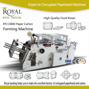 Ryj-D800 High Speed Ryj-D Automatic Kfc / Pizza Box Making Machine pictures & photos