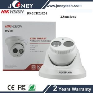 Hikvision Dome 3 Megapixel IP Camera Hikvision 3MP IP Camera Ds-2CD2332-I pictures & photos