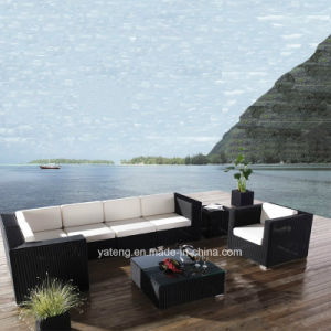 Popular Glassic Deisgn Outdoor Wicker Rattan Furniture Cornor Section Sofa Set by Round Rattan (YT403) pictures & photos