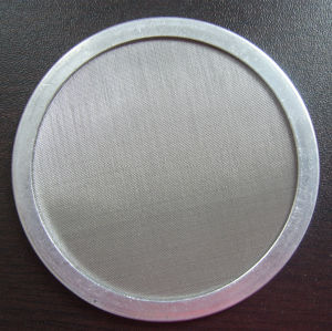 0.5 1 2 5 10 20 50 100 Micron AISI304 316 Stainless Steel Wire Mesh Sintered Metal Filter Disc pictures & photos