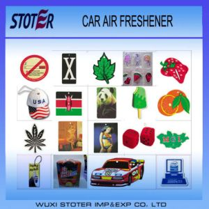 Print Custom Logo Promotional Paper Car Air freshener