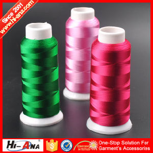 Fully Stocked High Tenacity Cheap Embroidery Thread pictures & photos