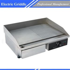 Electric High Quality Stainless Steel Griddle Commercial Dpl-818-2 pictures & photos
