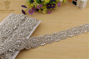 Handmade Beaded Wedding Dress Rhinestone Belt, Diamond Chain Accessories pictures & photos