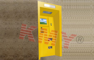 Wall Mounted Self Service Payment Kiosk with Card Reader pictures & photos
