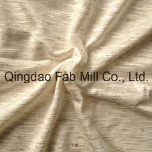 93%Rayon 7%Linen Knitting Fabric (QF13-0681) pictures & photos