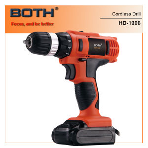 Power Tools 14.4V Cordless Professional Li-ion Drill (HD1906-1415) pictures & photos