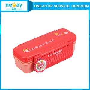 Red and Green 21.2*9.9* 9.3 Cm Hot Sale Plastic Storage Box pictures & photos
