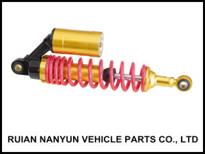 Nanyun Wire Drawing Motorcycle Shock Absorber with Airbag (QS-3017)