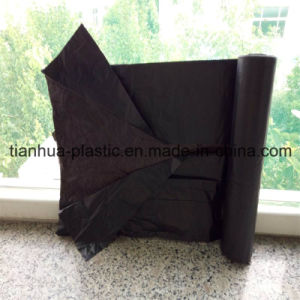 LDPE/HDPE Recycled or Virgin Material C-F Garbage Bag