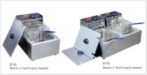 Counter Top Commercial Electric Fryer for Hotel Buffet and Kitchen pictures & photos