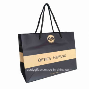 Customized Logo Printing Shopping Paper Bag / Promotional Carrier Paper Bag pictures & photos