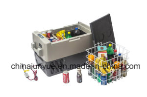 DC 12V 24V Bcd-45L Mobile Car Solar Refrigerator pictures & photos